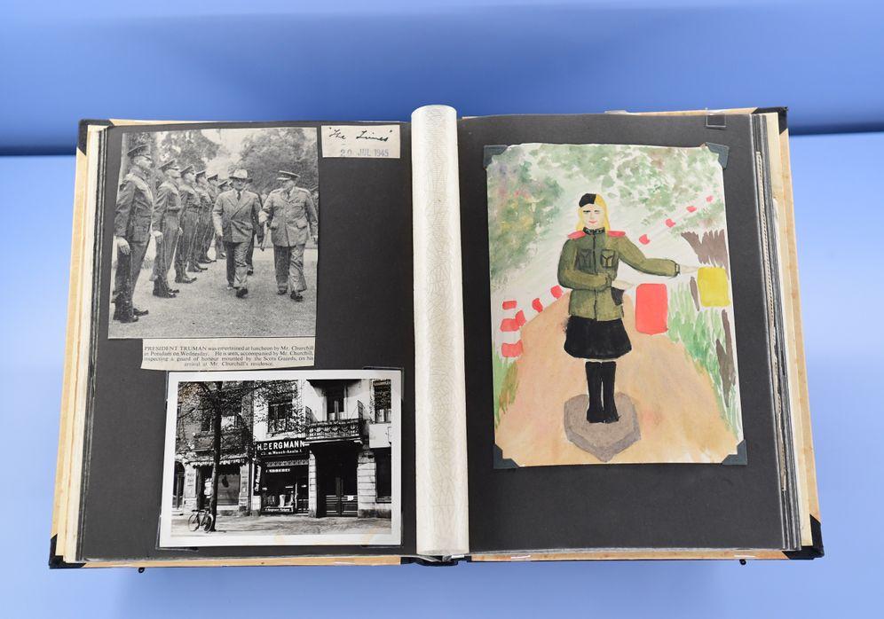 Ein Digitalisat des Tagebuchs ist in der aktuellen Sonderausstellung zur Potsdamer Konferenz im Schloss Cecilienhof zu sehen