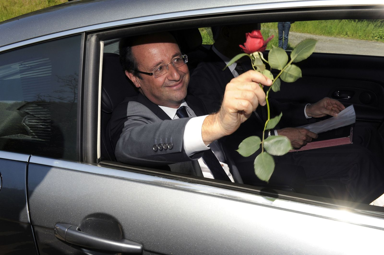 FRANCE-POLITICS-HOLLANDE-TULLE