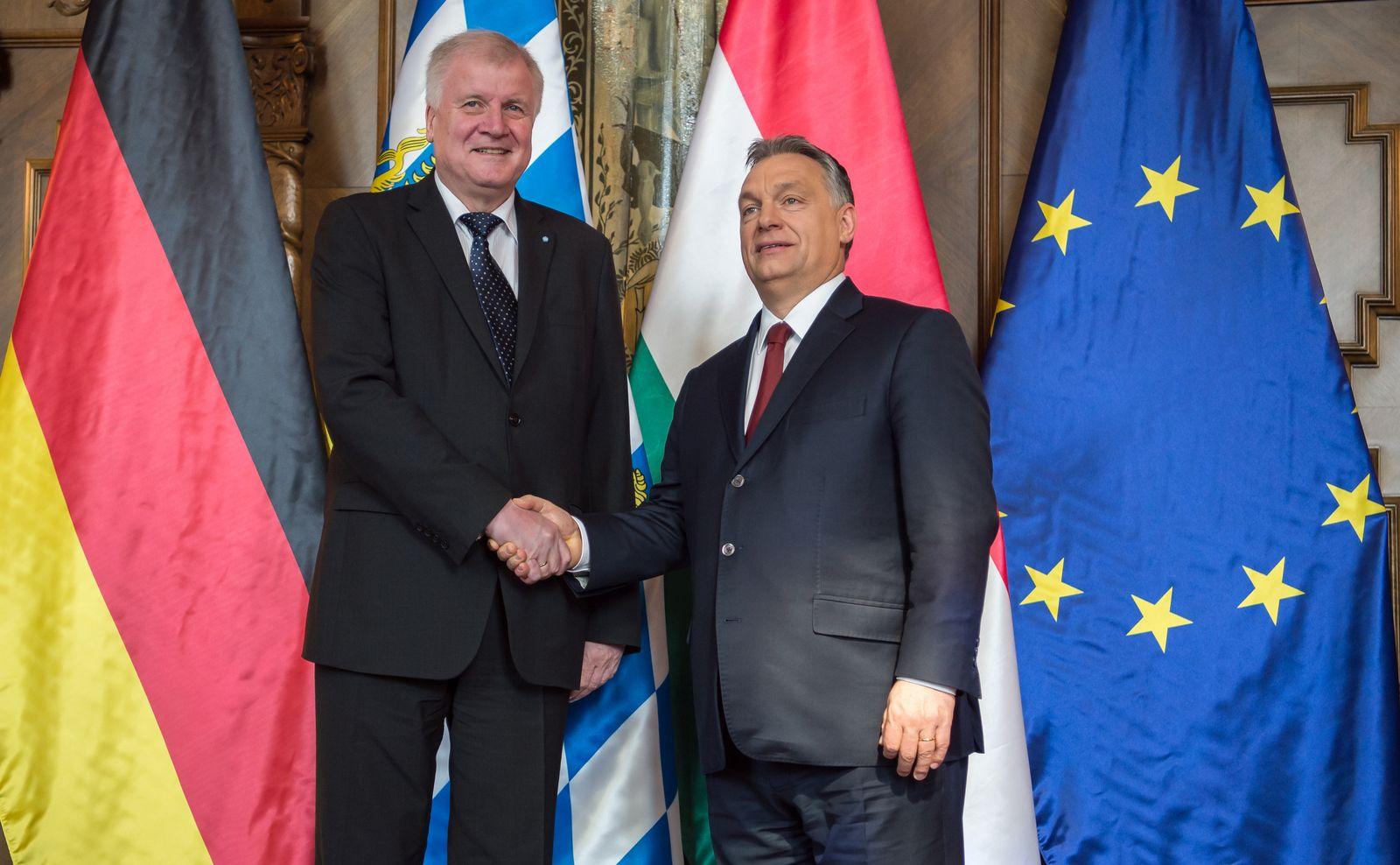 Horst Seehofer/Viktor Orbán