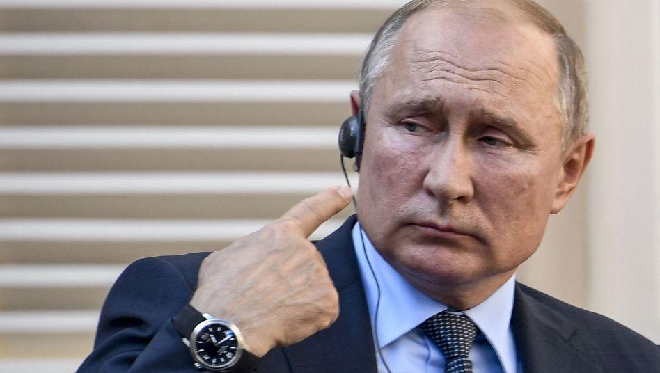 Wladimir Putin: Russlands Präsident hat in Syrien gerade demonstriert, wie die Partnerschaft mit der Türkei funktioniert - sie kann jederzeit aufgekündigt werden, wenn eine der beiden Seiten dies für opportun hält