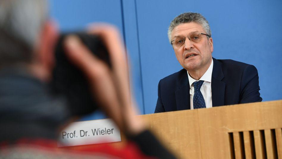 Lothar Wieler: Auch in Deutschland drohe das Gesundheitssystem an seine Grenzen zu stoßen