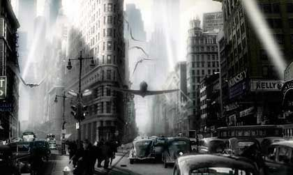 """Special-Effects-Spektakel """"Sky Captain and the World of Tomorrow"""": Die Illusion feiern, nicht den Inhalt"""