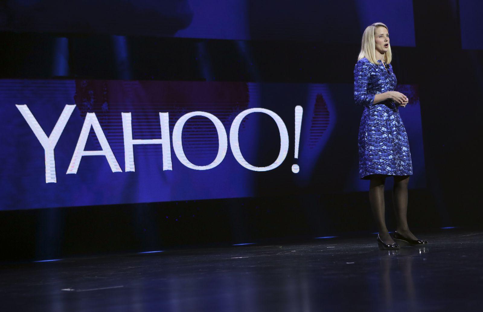 Marissa Meyer Yahoo CES