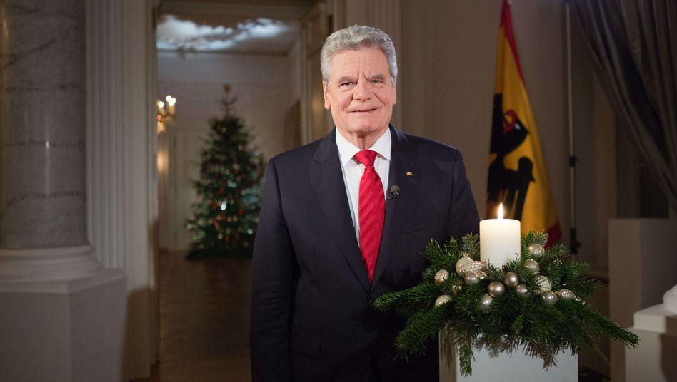 """Bundespräsident Gauck: """"Ja, wir wollen ein solidarisches Land"""""""