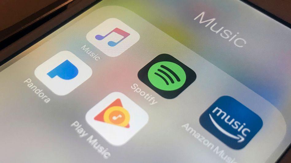 Musik-Streamingdienste auf einem iPhone: Immer mehr Anbieter buhlen um Abonnentinnen und Abonnenten