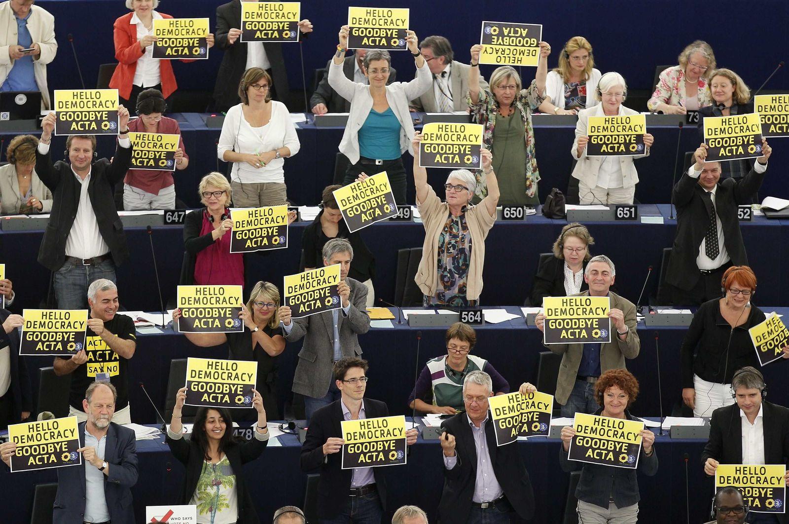 EU Parliament ACTA