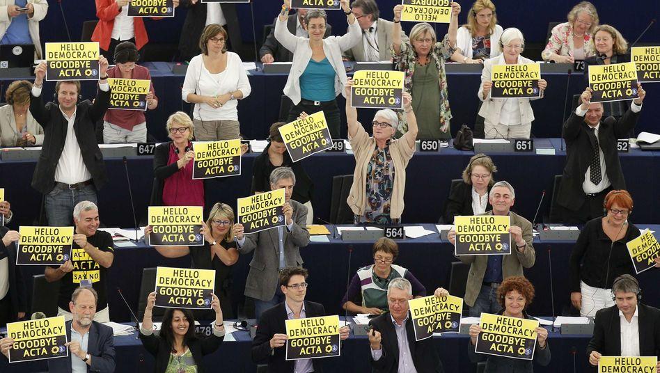 European parliamentarians on Wednesday voted down ACTA.