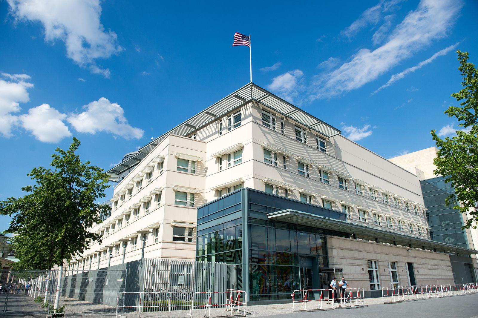 US-Botschaft/ Berlin/ mutmaßlicher US-Spion