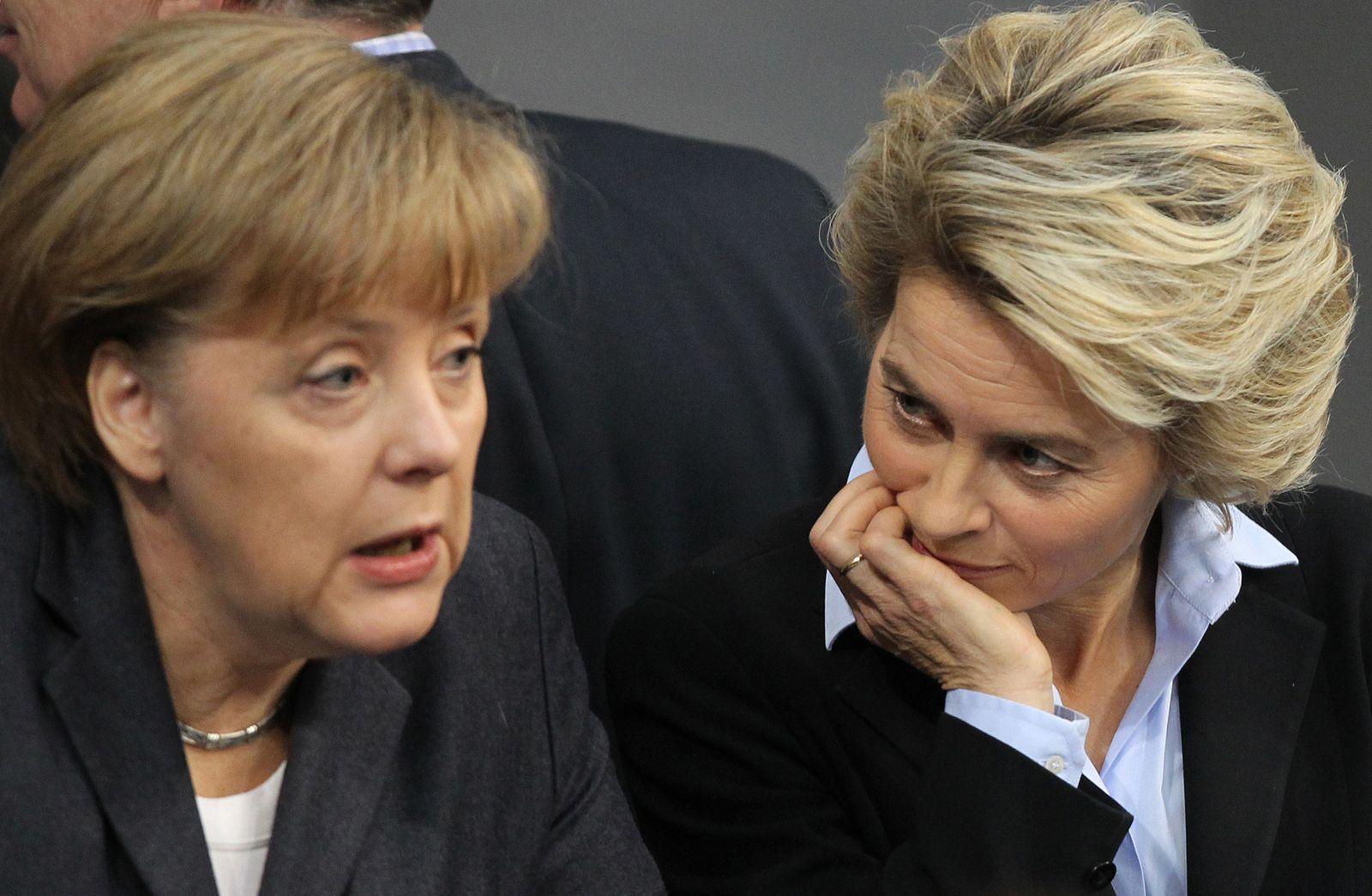 Von der Leyen / Merkel