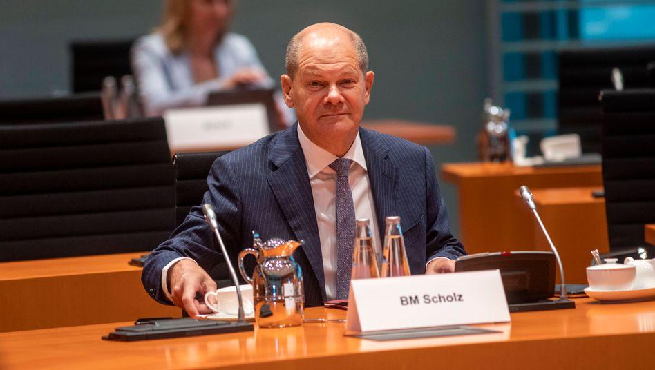 """Finanzminister Olaf Scholz: """"Erhebliche Mittel aufwenden, um die Gesundheit der Bürgerinnen und Bürger zu schützen"""""""