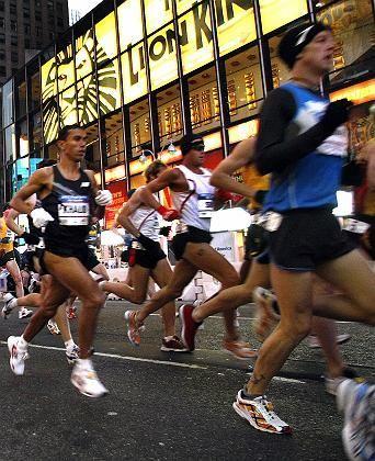 Läufer Shay (m.): Kollaps bei Kilometer neun