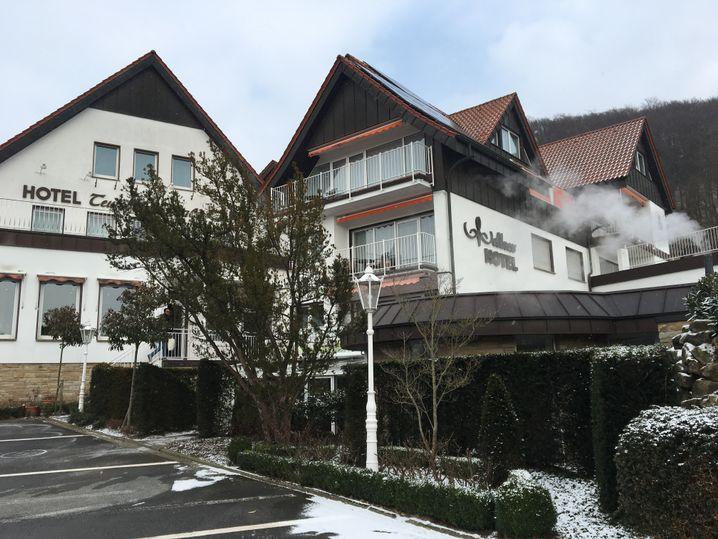 Das Ringhotel Teutoburger Wald wurde von Karliczeks Eltern aufgebaut, hier hat die gelernte Hotelfachfrau viele Jahre lang gearbeitet.
