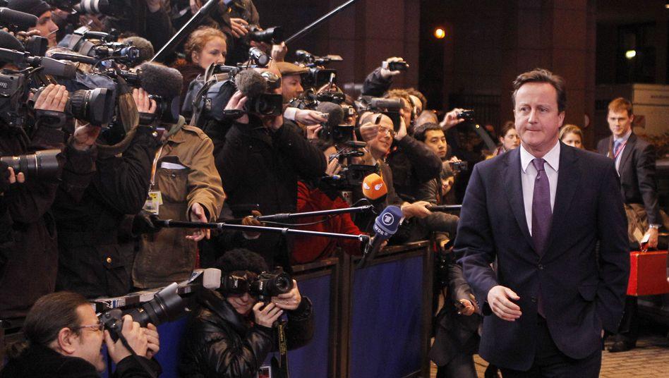 EU-Gipfel in Brüssel: Briten verhindern großen Euro-Rettungsplan