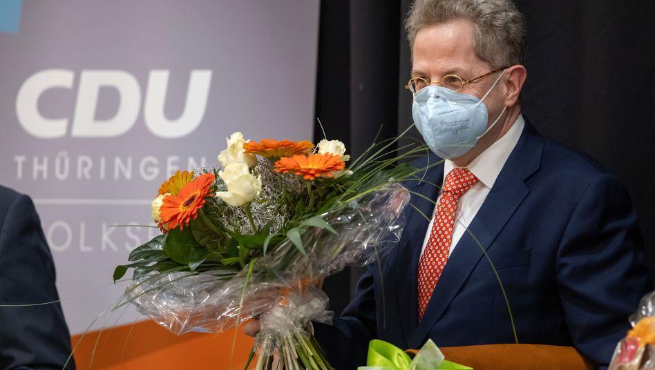 Hans Georg Maaßen bei seiner Nominierung: »Randfigur im demokratischen Spektrum«