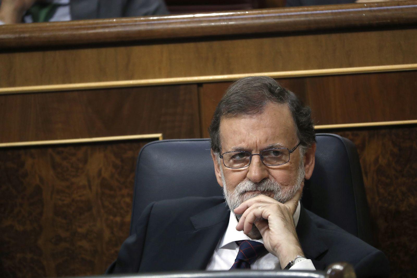 Unabhängigkeit Katalonien/ Mariano Rajoy
