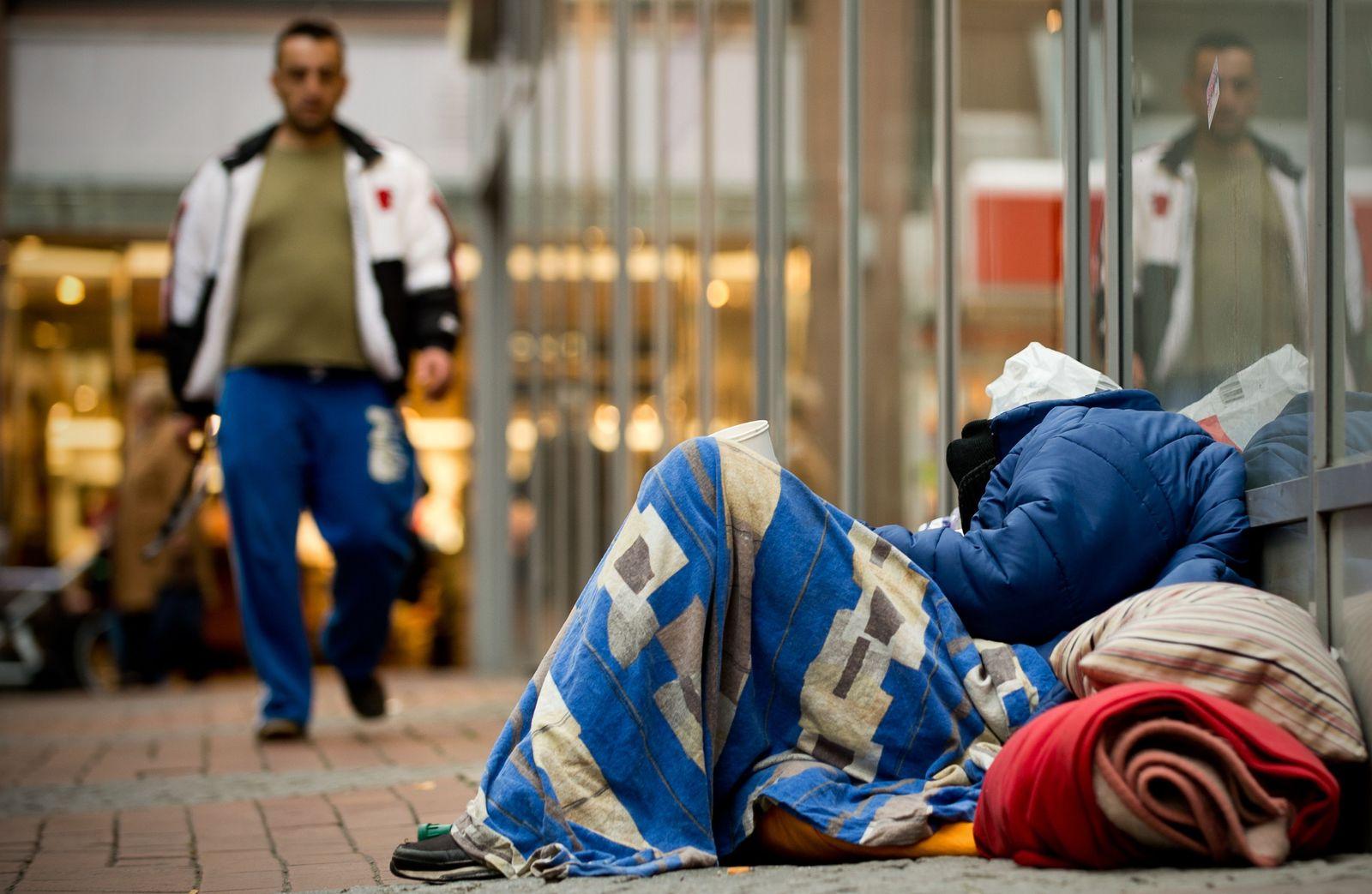 Dortmund/ Obdachloser