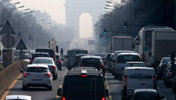 Luftverschmutzung: Smog-Alarm in Paris