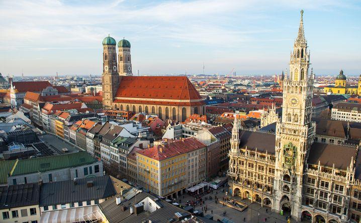 Extrembeispiel München: Nirgendwo sonst sind die Mieten so hoch