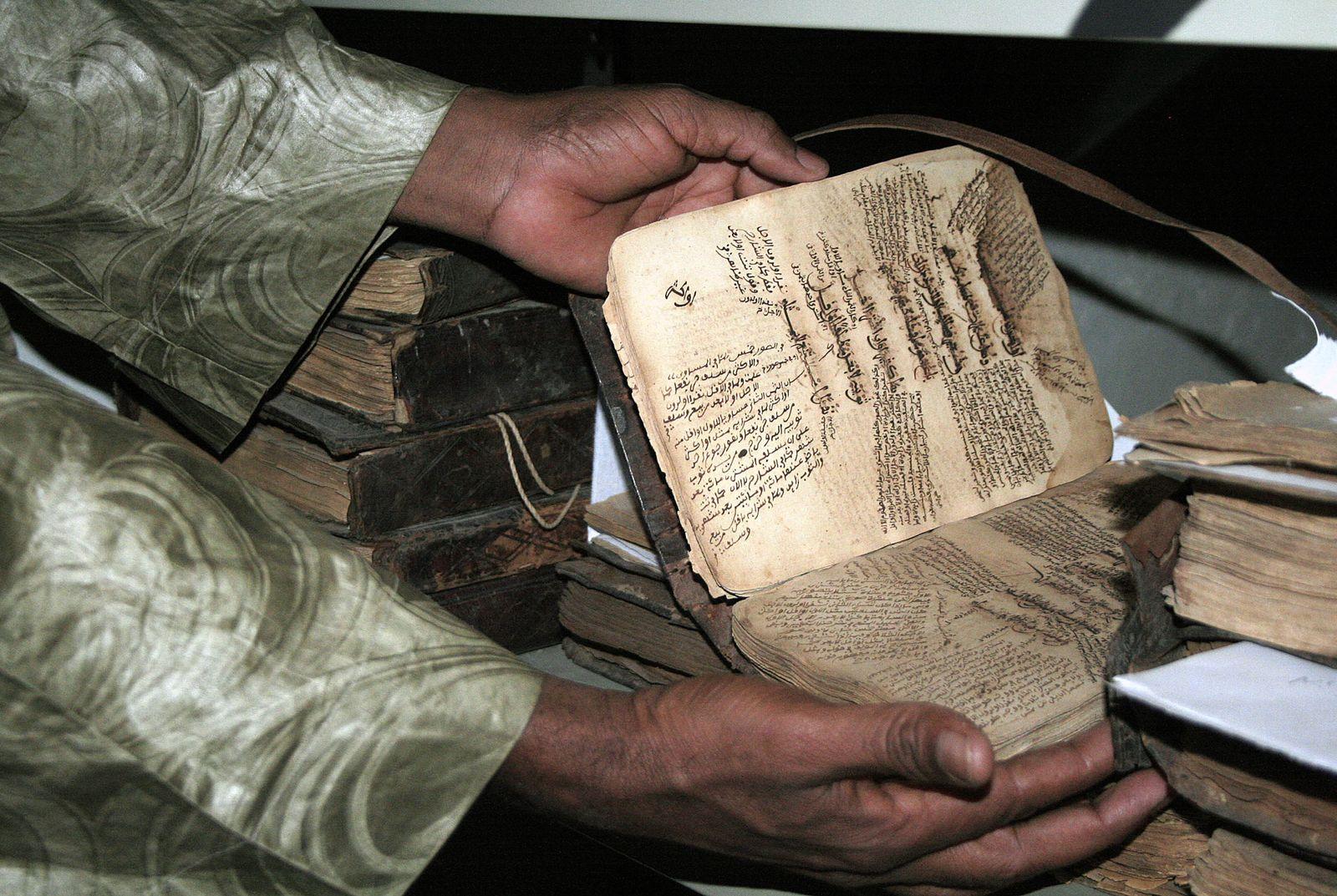 Timbuktu/ Mali/ Bibliothek