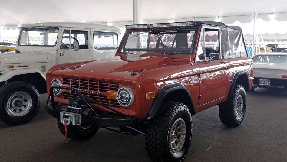Ford Bronco auf der Oldtimer-Auktion in Scottsdale: Preise sind im Aufwind