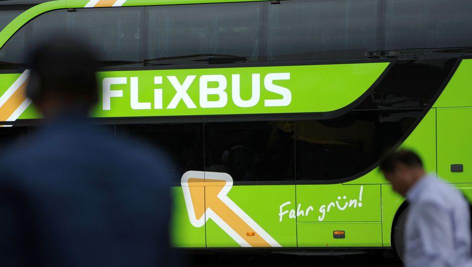 Fernbus in Berlin (Archiv)