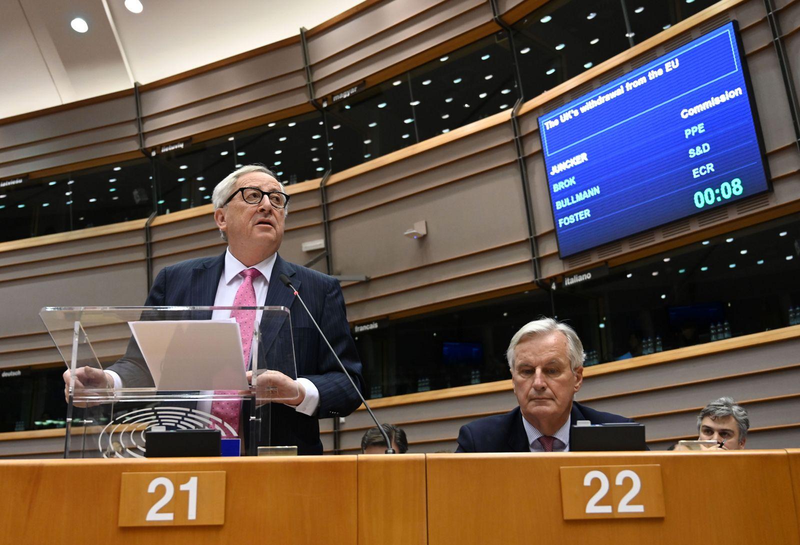 Juncker / Barnier
