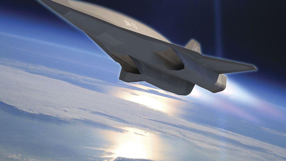 SR-72: So soll Blackbirds Nachfolger aussehen