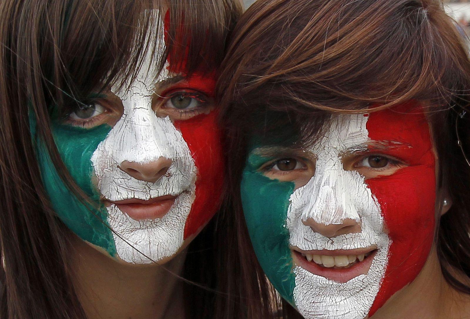 Italien Freude