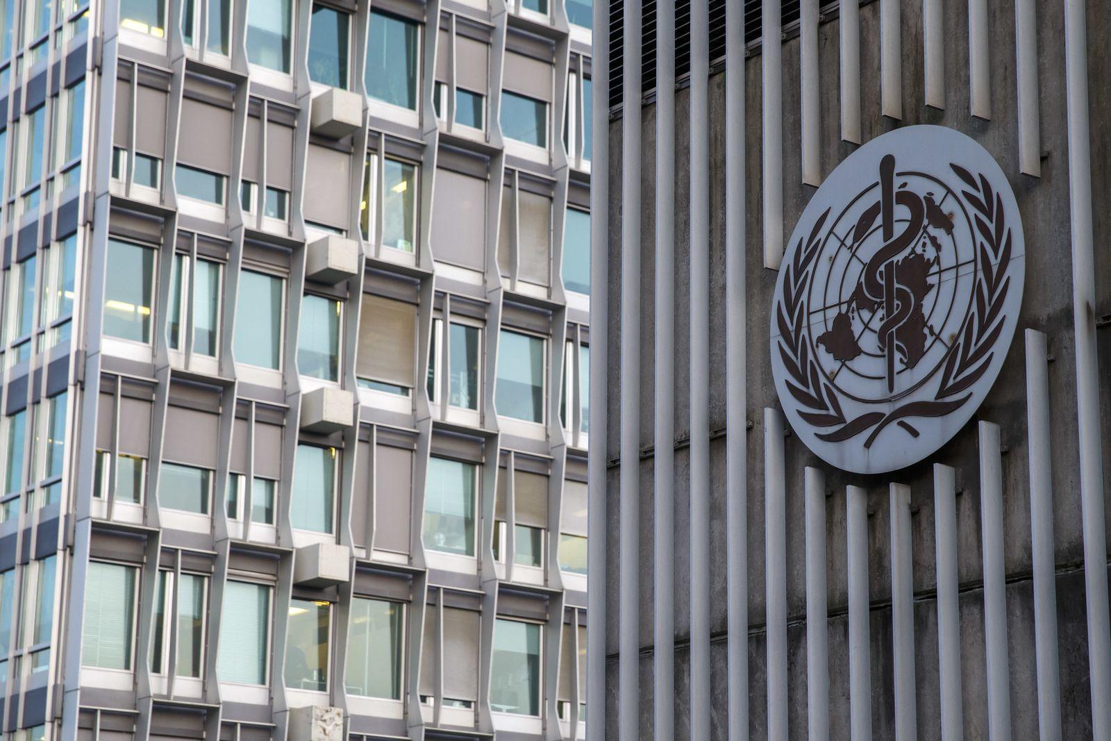 Hauptsitz der Weltgesundheitsorganisation (WHO)