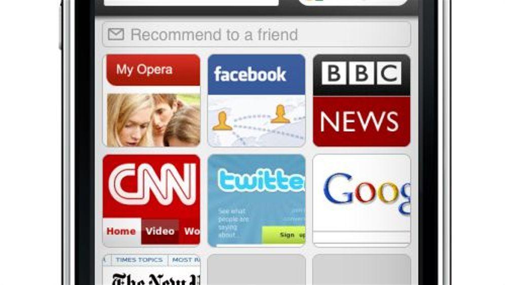 Auf dem Weg in den App Store: Opera will auf das iPhone