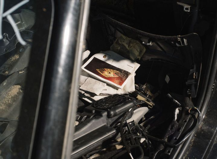 Zerfleddert wie das Auto selbst: das Bordbuch eines Boxster