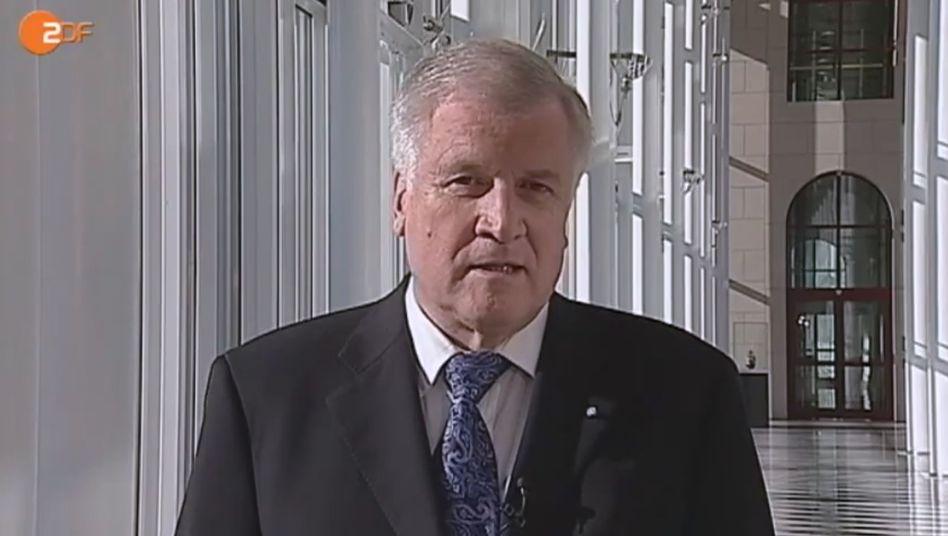 """Seehofer im ZDF-Interview über Röttgen: """"Persönlich hat er mich abtropfen lassen"""""""