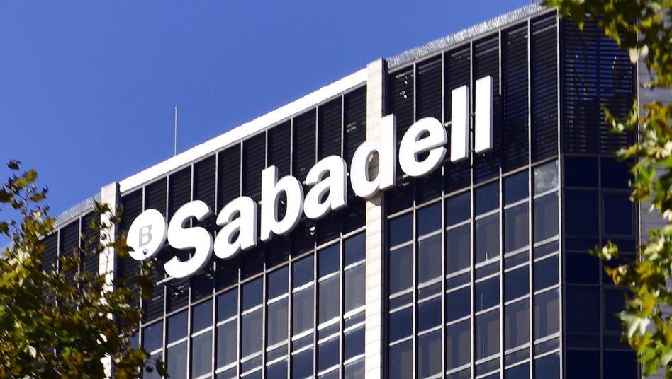 Sabadell-Zentrale in Barcelona