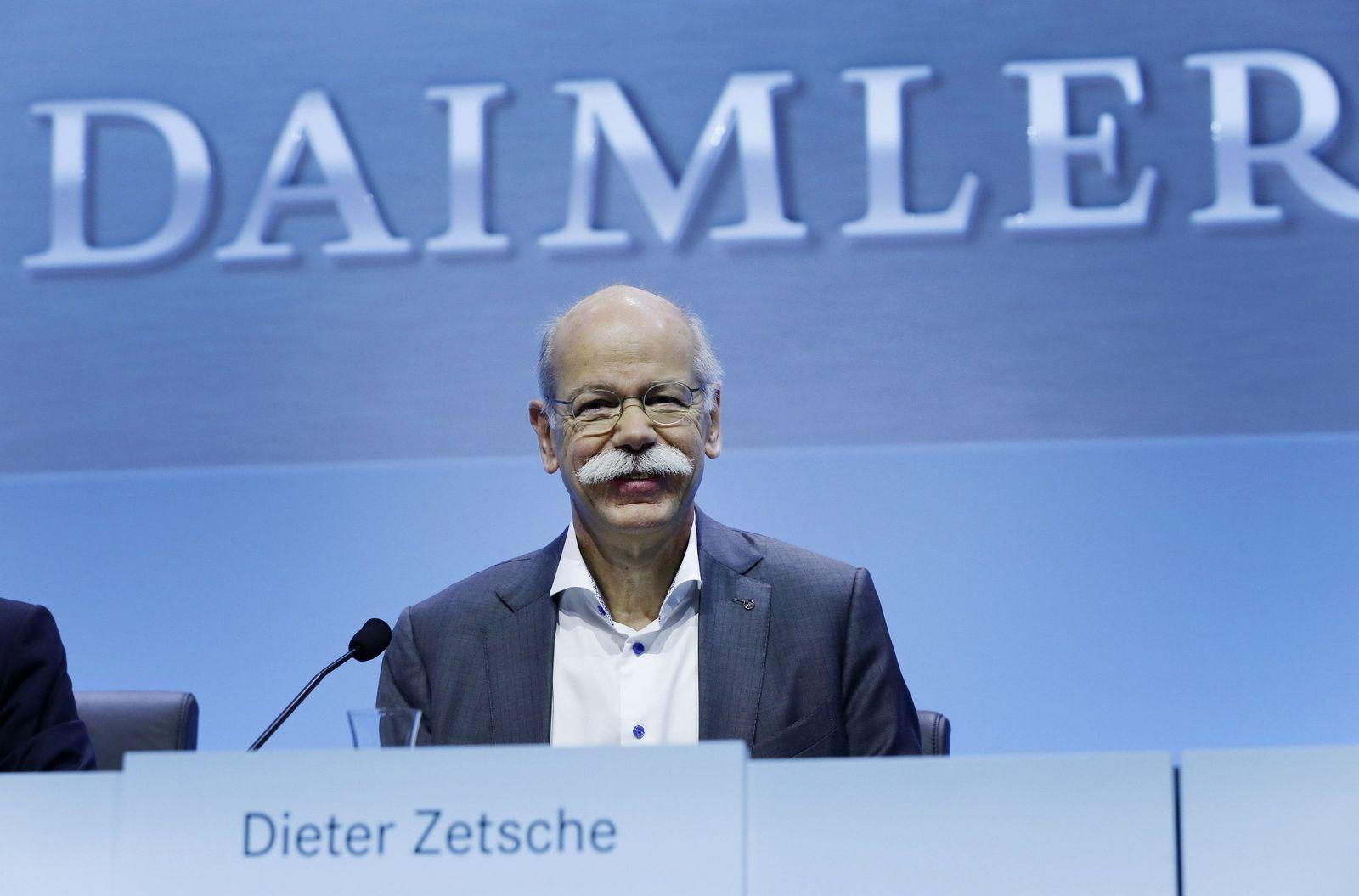 Germany Daimler Earns Zetsche