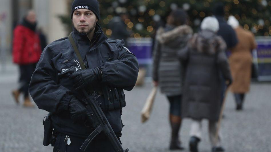 Sicherheitskräfte in Berlin