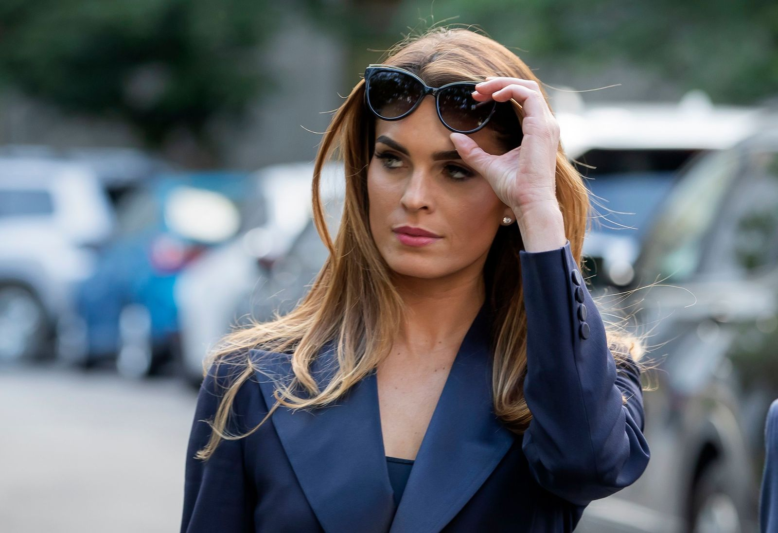 US President Donald J. Trump's former White House communications director and campaign spokeswoman Hope Hicks testifies before the House Judiciary Committee, Washington, USA - 19 Jun 2019