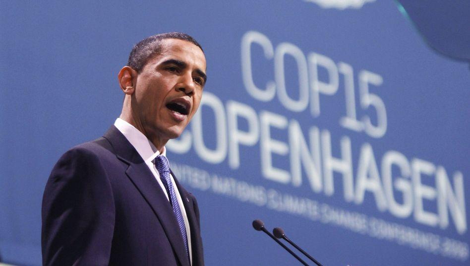 """Barack Obama in Kopenhagen: """"Die Welt hat keine Zeit zu verschenken"""""""