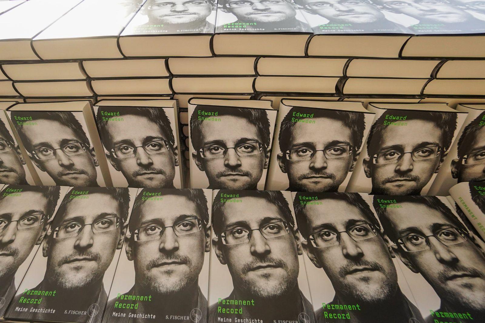 Neues Buch von Edward Snowden