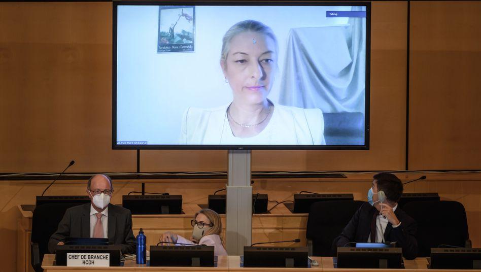 """Uno-Sonderberichterstatterin Anais Marin sieht """"katastrophale"""" Menschenrechtslage in Belarus"""