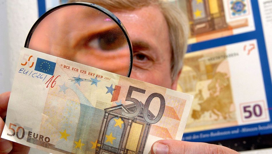 """Ein """"falscher Fuffziger"""": Inzwischen sind mehr 20-Euro-Blüten im Umlauf"""