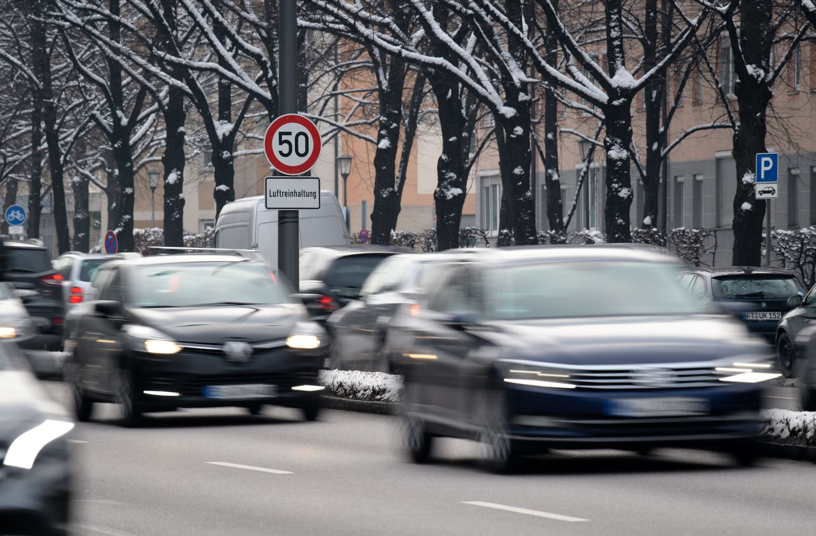 Diesel-Fahrverbote / Verkehr München