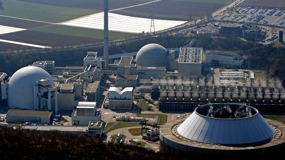 Atomkraftwerk Neckarwestheim: Details von Merkel am Nachmittag
