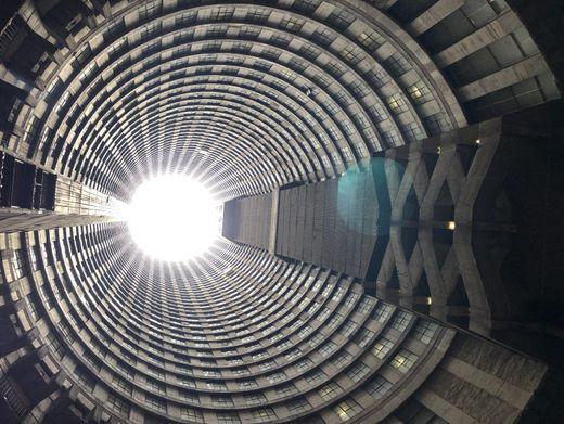 Der 54-stöckige Ponte-Tower in Südafrika war einst das Zentrum der Johannisburger Unterwelt