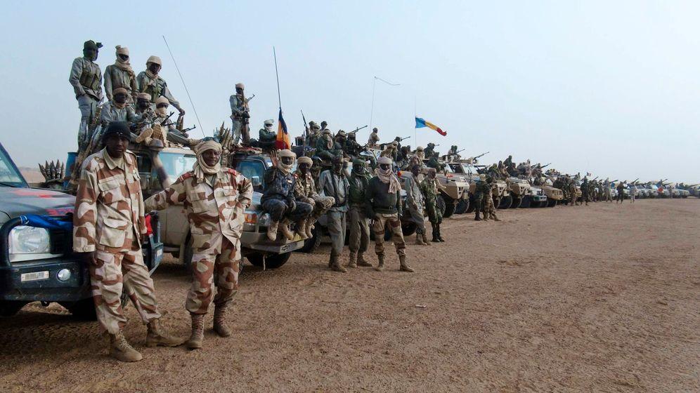 Jagd auf malische Extremisten: Einsatz im Felslabyrinth