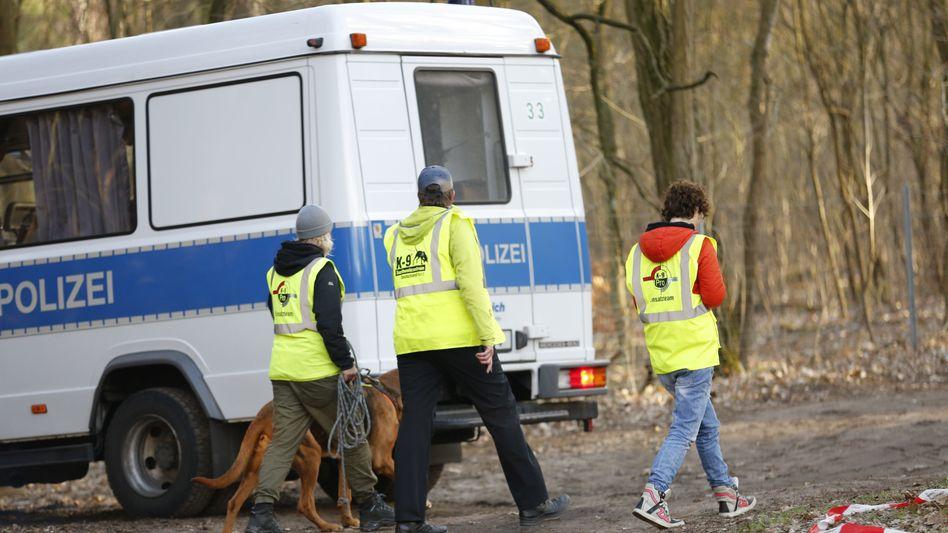 Die Berliner Polizei sucht wieder nach der vermissten Rebecca (Archivfoto)