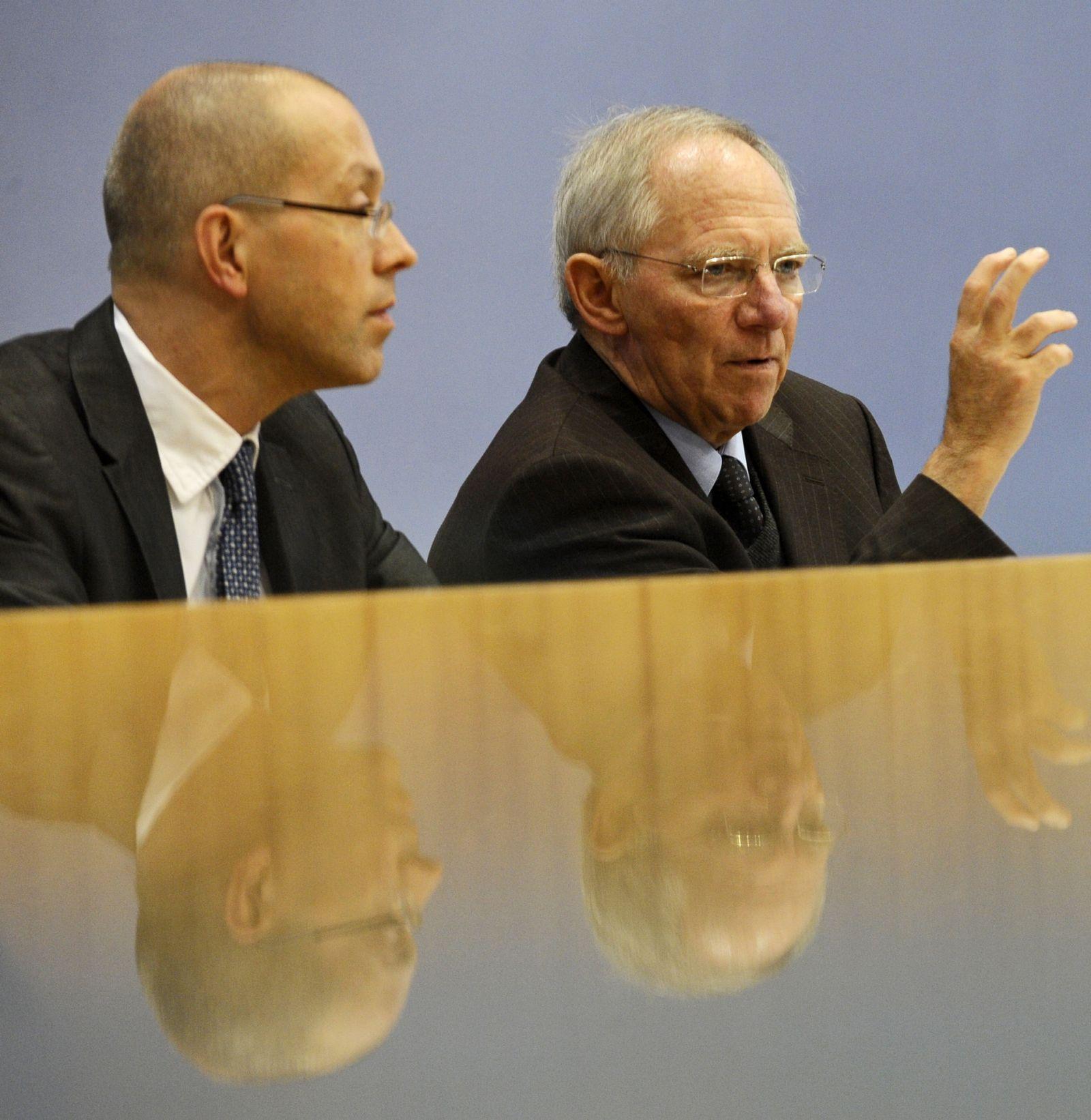 NICHT VERWENDEN Wolfgang Schäuble / Jörg Asmussen