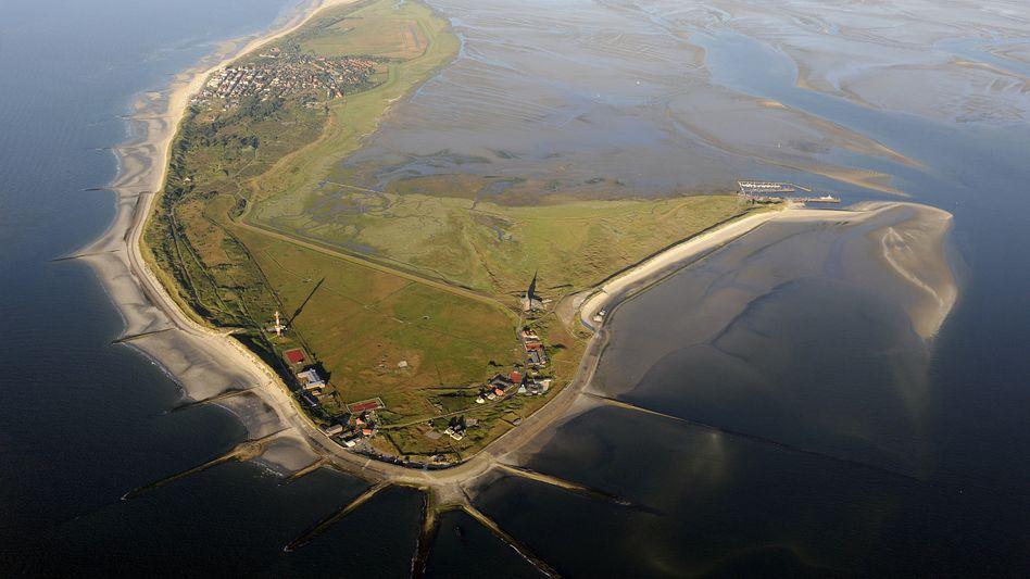 Die Insel Wangerooge im Nationalpark Niedersächsisches Wattenmeer