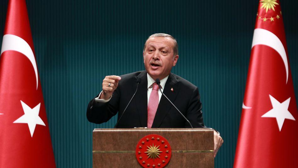 Staatspräsident Erdogan