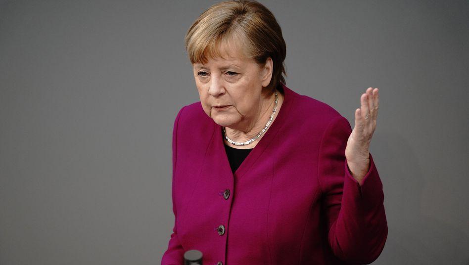 Kanzlerin Merkel: »Bei allen Beschwerlichkeiten glaube ich, dass sich in der Pandemie wieder gezeigt hat, dass es gut ist, dass wir diese Europäische Union haben«