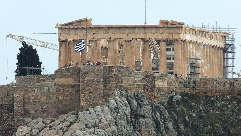 Akropolis: Ifo-Chef Sinn hält einen Euro-Austritt Griechenlands für das geringere Übel